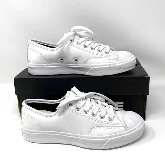 Converse JP White Leather Low Top Sneakers Logo M